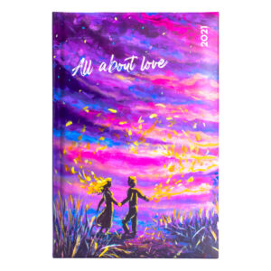 ΗΜΕΡΟΛΟΓΙΟ THE WRITING FIELDS ALL ABOUT LOVE  A5