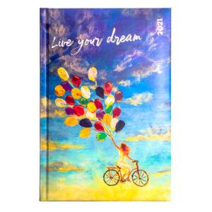 ΗΜΕΡΟΛΟΓΙΟ THE WRITING FIELDS LIVE YOUR DREAM  A5